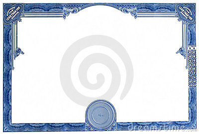 Blank Certificate Paper Pictures to Pin PinsDaddy – Blank Share Certificate