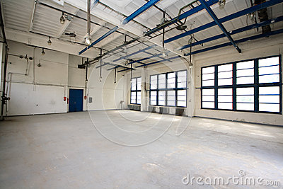 Empty storehouse