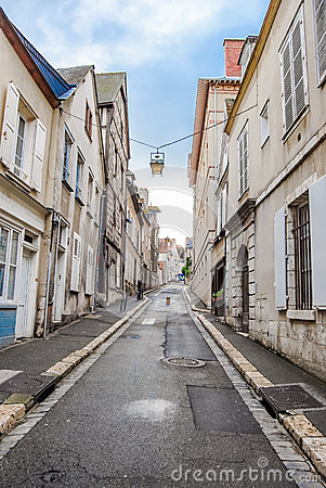 Free Empty Street In Old Town Royalty Free Stock Photos - 31374598