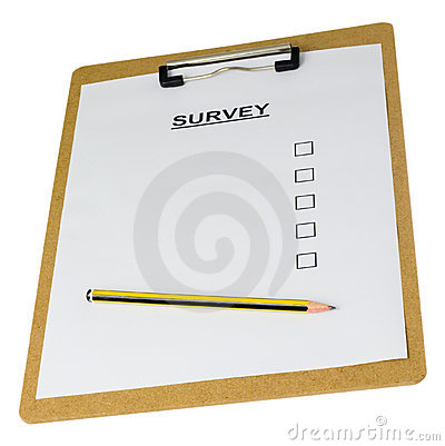 Free Empty Survey Form Royalty Free Stock Images - 2797739