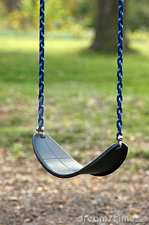 Free Empty Swing Royalty Free Stock Image - 3847576