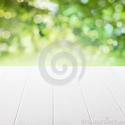 Free Empty Table In A Summer Garden Royalty Free Stock Image - 36608326