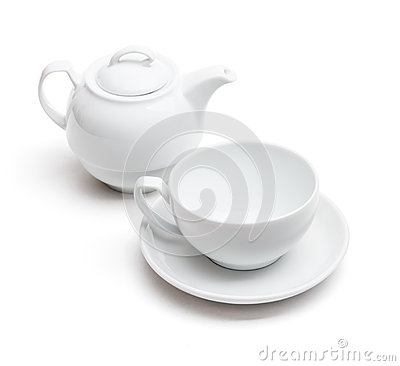 Free Empty Tea Cup Royalty Free Stock Images - 34861019