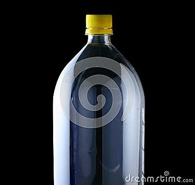 Empty two liter bottle
