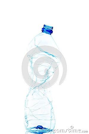 Free Empty Used Plastic Bottle Stock Photography - 29266042