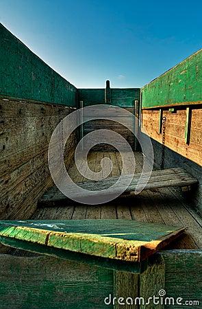 Empty Wagonbed