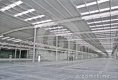 Empty Warehouse Royalty Free Stock Photography - Image: 27694267