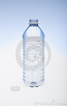 Empty Water Bottle With Cap