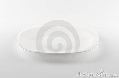 Empty White Dish Royalty Free Stock Photo - Image: 11817025