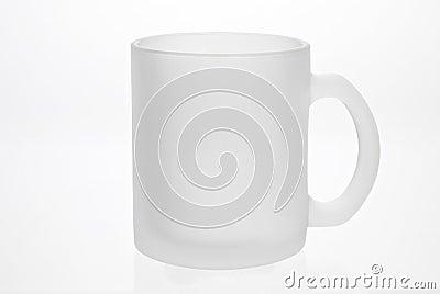 Empty white mug