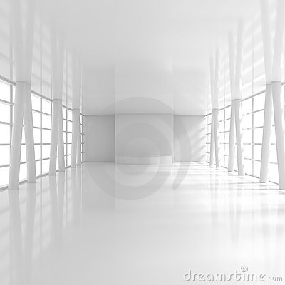Empty Wide Reception