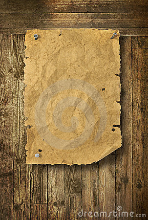 Free Empty Wild West Wanted Poster Royalty Free Stock Photos - 22263368