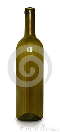 Free Empty Wine Bottle Royalty Free Stock Images - 41745429