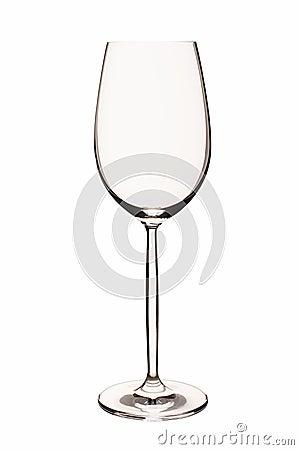 Free Empty Wine Glass Royalty Free Stock Photos - 1859378