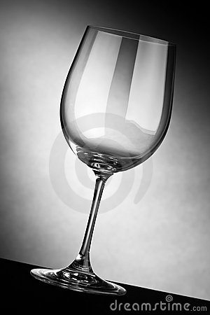 Free Empty Wine Glass Royalty Free Stock Images - 8718089