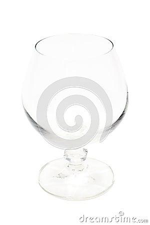 Empty Wine Glass (isolated)