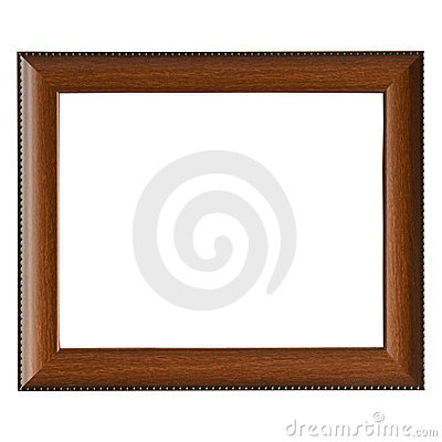 Free Empty Wooden Frame Royalty Free Stock Photo - 14612155