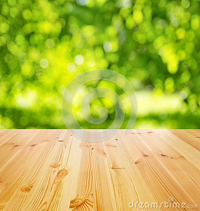 Free Empty Wooden Table Royalty Free Stock Photo - 40545555