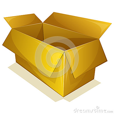 Empty yellow box