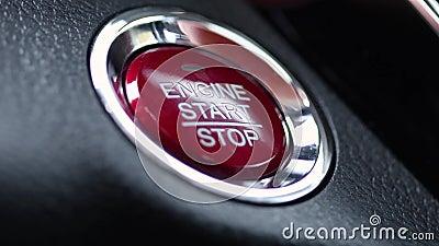 Empurrando o close up da tecla 'Iniciar Cópias' do motor filme