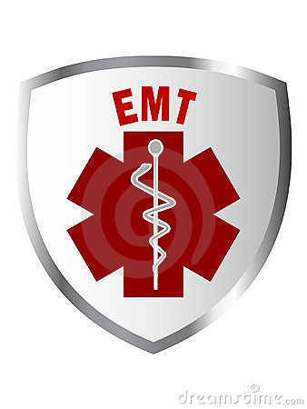 EMT shield sign