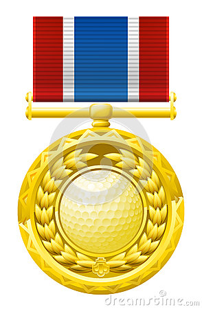 Golfmedalj