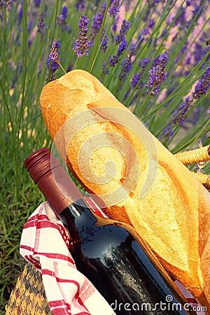 En picknick i Provence