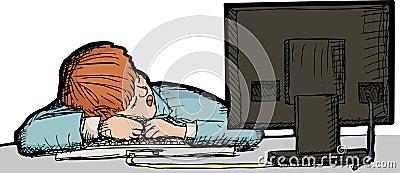 En sommeil au travail