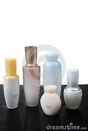 Flå omsorg- och skönhetprodukter