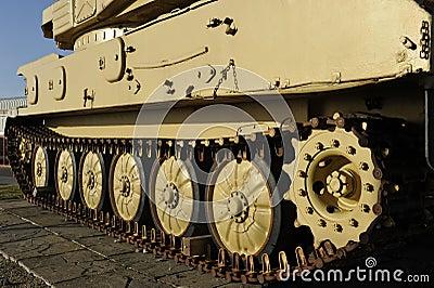 Encadenamiento del tanque ligero británico