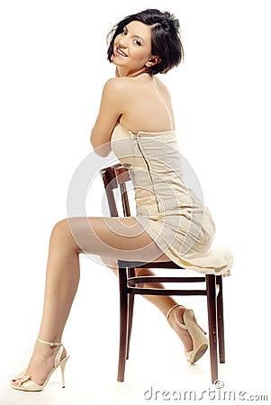 Encanto em uma cadeira