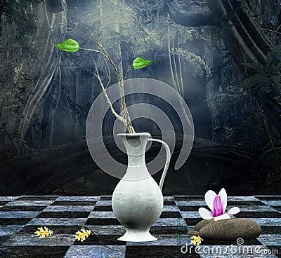 Enchanted still life