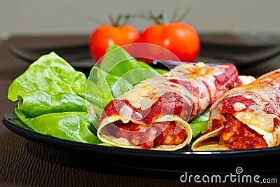 Enchiladas meksykańscy