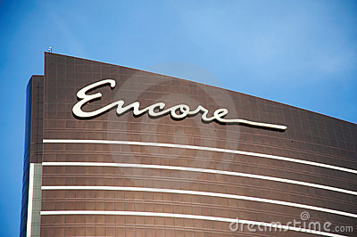 Encore Las Vegas Editorial Stock Photo