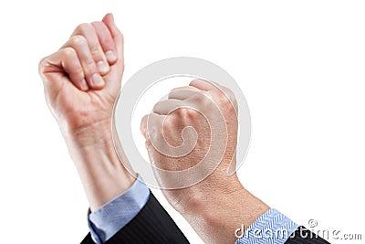 Encouraging gesture