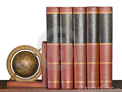 Encyclopedia on Shelf