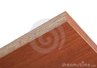 End face laminated plate of the pressed wood crumb