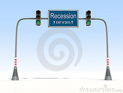 End of recession