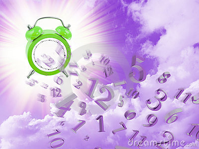 End of time and clock numbers