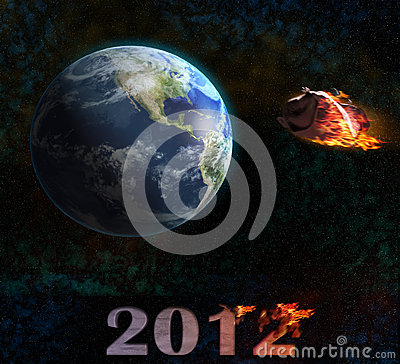End of the world 2012 illustration