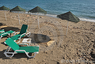 Ending a beach day