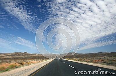 Endless Desert Road