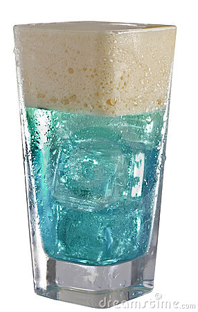 Energetic Blue drink