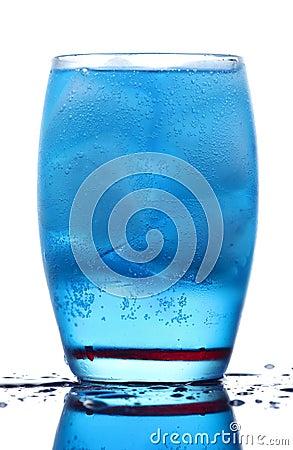 Free Energetic Blue Drink Stock Image - 18227151