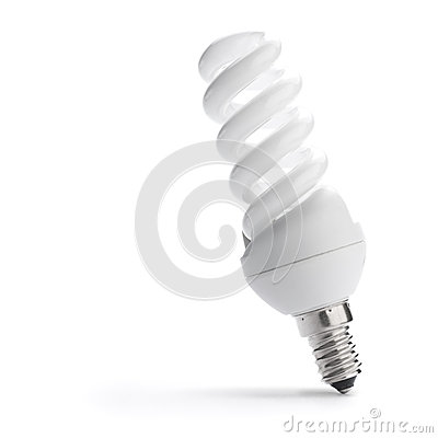 Energie - besparingsBol, low-energy lightbulb