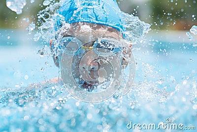 Energie het zwemmen