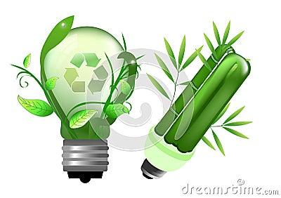 Energiesparende Glühlampe