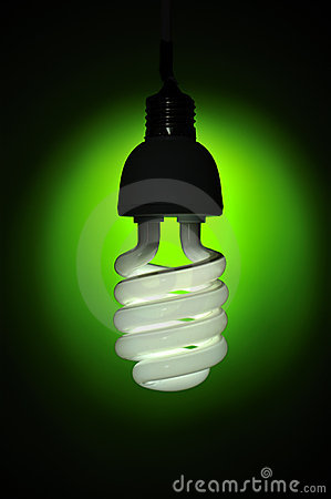 Energy conservation lightbulb