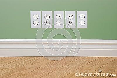 Energy Crisis Concept Outlets