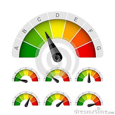 Free Energy Efficiency Rating Stock Photos - 27017113